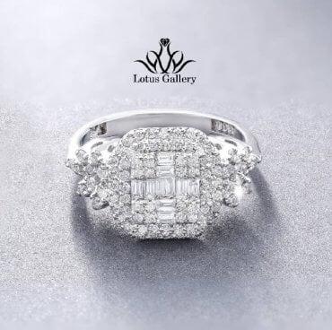 انگشتر جواهر باگت و طرح مارکیز