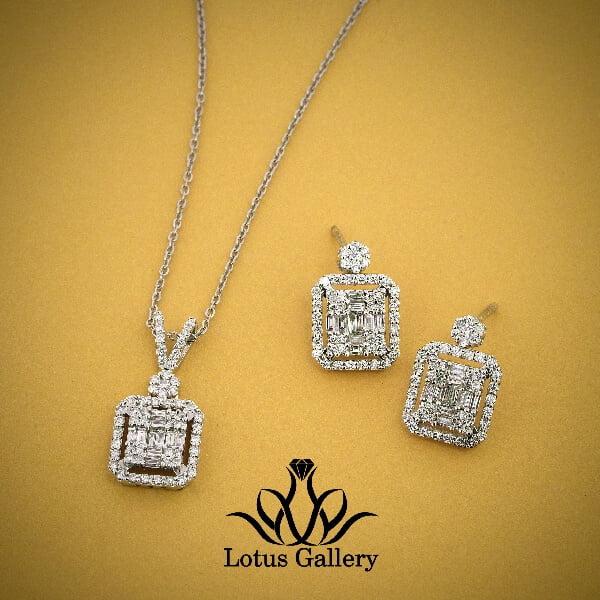 نیم ست جواهر باگت