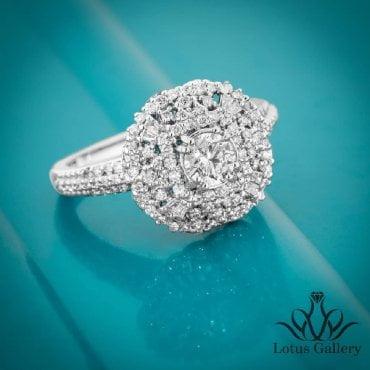 انگشتر جواهر تخمه خور