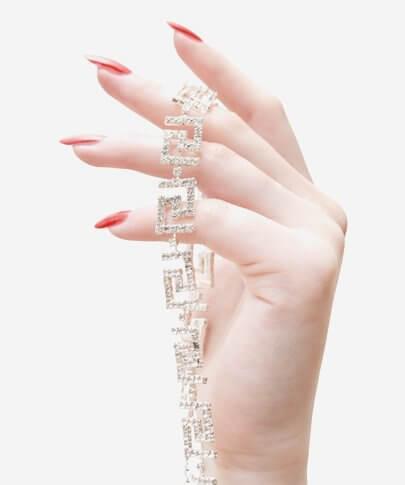 دستبند جواهر
