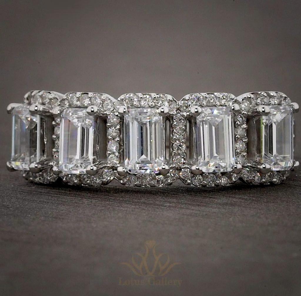 انگشتر جواهر زیرکونیوم