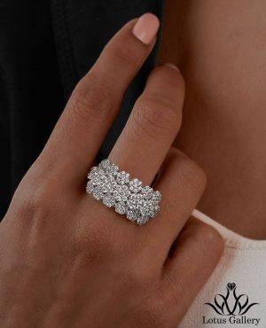 انگشتر جواهر فلاور