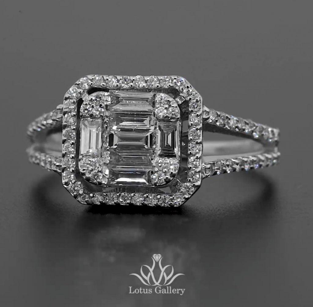 انگشتر جواهر خاص و ظریف