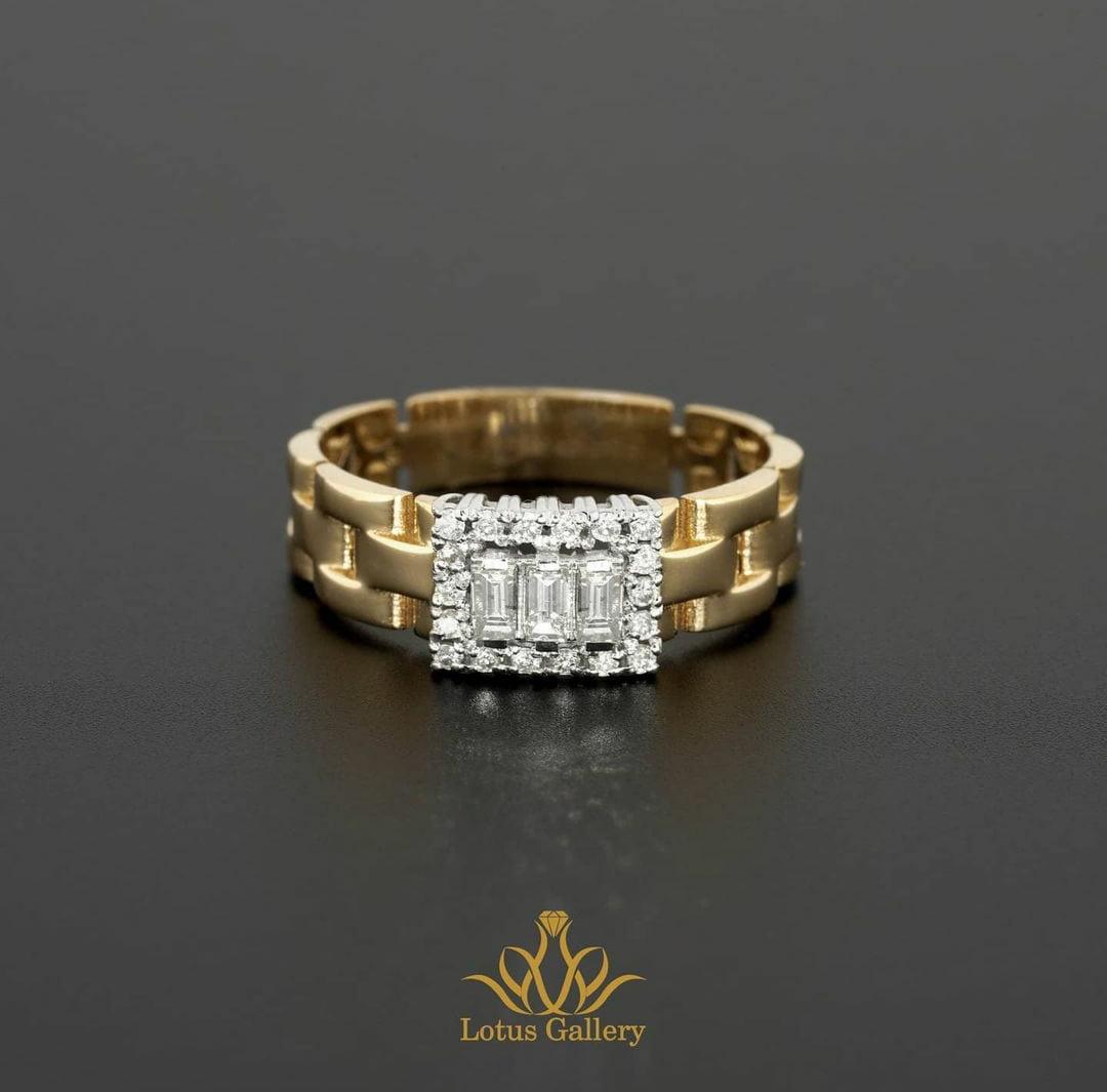 انگشتر جواهر رولکس زنانه