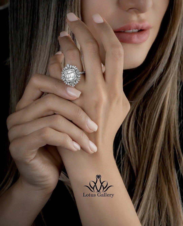 انگشتر جواهر اشک