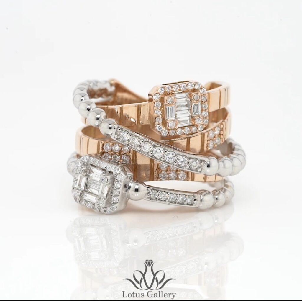 انگشتر جواهر باگت خاص