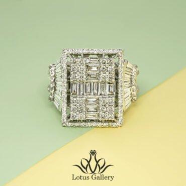 انگشتر طلا و جواهر